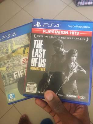 PS4 cd's -4used image 2