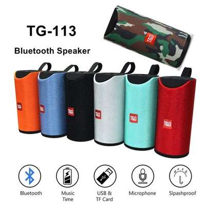 T&G Cylindrical TG-113 Bluetooth Speaker image 1