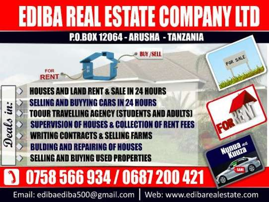 DO YOU HAVE A LAND/HOUSE FOR SALE IN ARUSHA? image 1