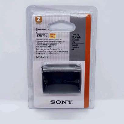 SonyNP-FZ100 Rechargeable Lithium-Ion Battery (7.2V, 2280mAh) image 1