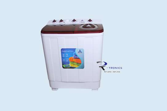 Delta Top Load, Twin Tub Manual 10Kg Washing Machine image 1
