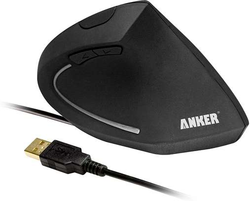 Anker® Ergonomic Optical USB Wired Vertical Mouse image 3