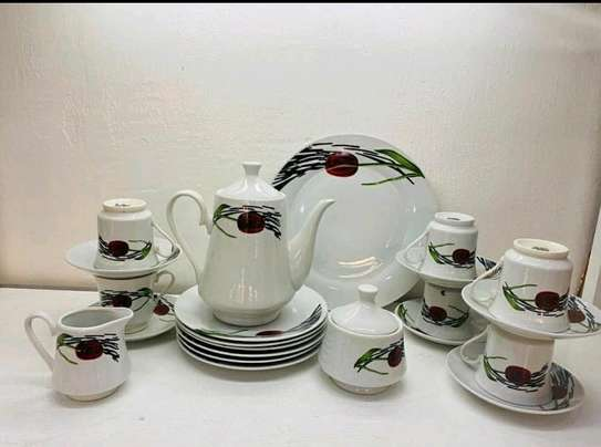 dinner set 47pc cherry design