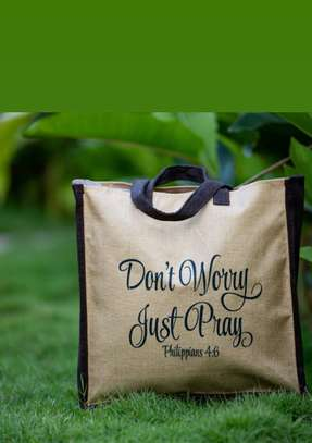 Don't Worry Just Pray Nature Bags