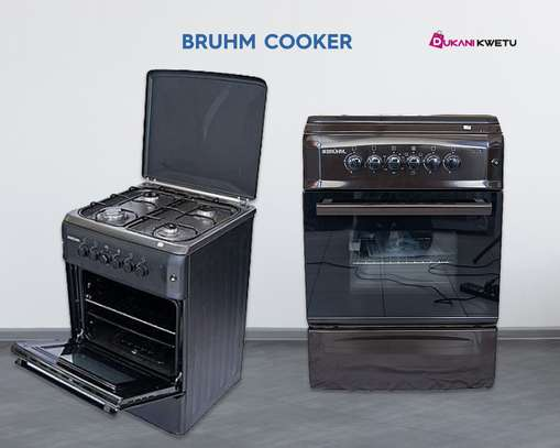 60 x 60 BRUHM FULL Gas Cooker (4 GAS PLATES )