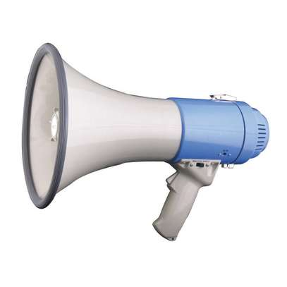 MEGAPHONE 30W WITH MP3 PLAYER AND USB/SD image 1