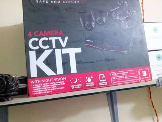 HOME PROTECTOR CCTV 4CHANNEL KIT