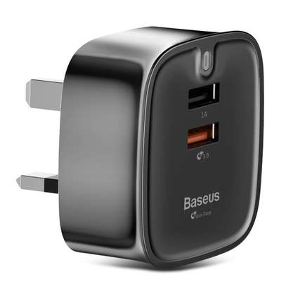 Baseus Funzi QC 3.0 Dual USB Smart Travel Charger image 5