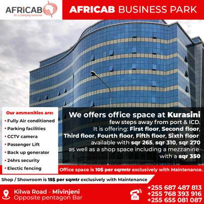 AFRICAB BUSINESS PARK FOR RENT