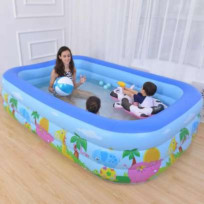 Kids water swimming pool and big family water swimming pool