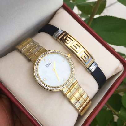 Pack of Lady Watch and Bracelet