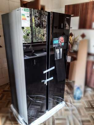 Hisense Refrigerator Side by Side 514L BLACK