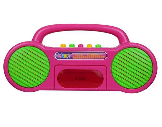 Musical Educational Radio Toy Multicolor image 1