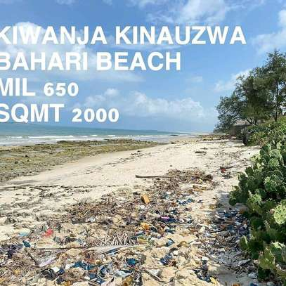 PLOT BEACH FOR SALE BAHARI BEACH image 1