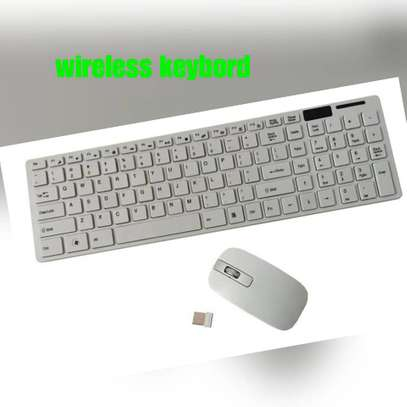 Wireless keybord & mouse image 1