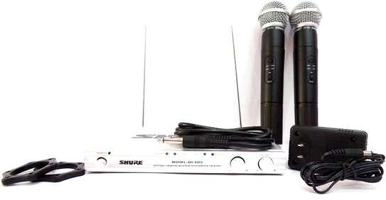 Shure Wireless Microphones UHF SH-500 image 1