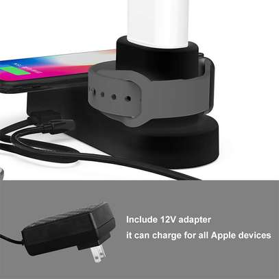 Wireless Phone Fast Charging Doc 4 in 1 image 4