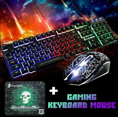 Gaming keyboard and mouse image 2
