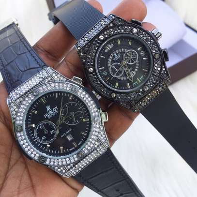 Pack of Valentines Watches Black
