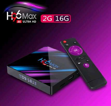 h96 max Android 10.0 TV BOX( Ram2,16Gb). image 1