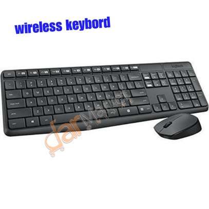 Wireless keybord & mouse image 2