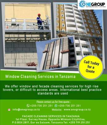 Window/Glass cleaning services image 1