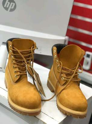 Timberland leather boot shoes. image 1