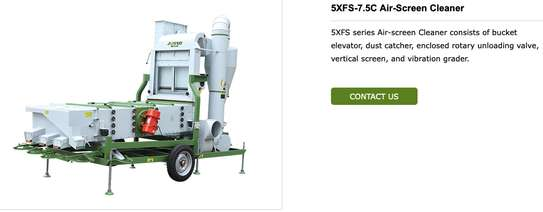 Sesame / Chick Pea / Green Gram cleaning Machine with Destoner image 2