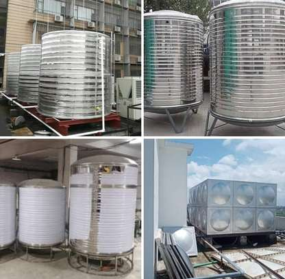 Stainless steel tanks materials image 4