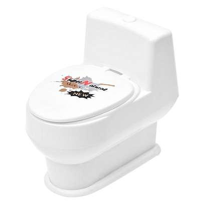 Funny Mini Squirting Toilet Prank Desk Toy image 4