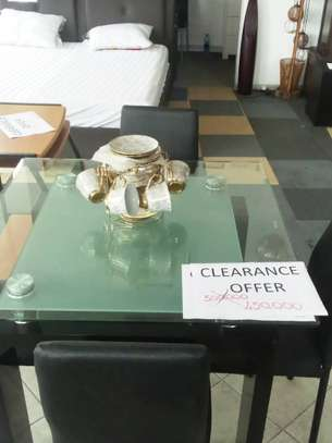 Dinning table on clearance offer. image 2