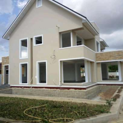 3  BDRM SEMI-FINISHED HOUSE WITH A SERVANTS' QUARTER  AT BAHARI BEACH, DAR ES SALAAM. image 3