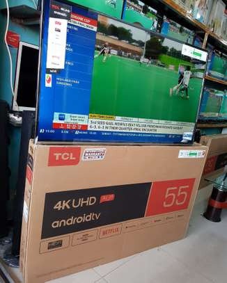 TCL ANDROID SMART TV 55 INCH 4K image 1