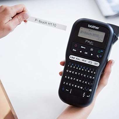 Brother PT-H110 Label Maker, P-Touch Labeller, QWERTY Keyboard, Handheld