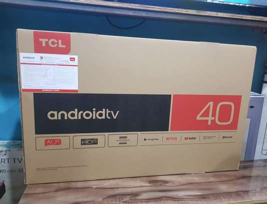 "TCL  SMART ANDROID TV 40"" INCHES image 1"