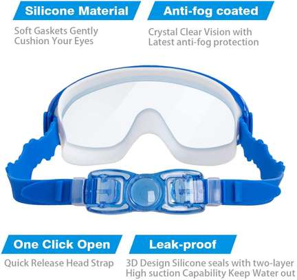 2-PACK Kids Swimming Goggles image 5