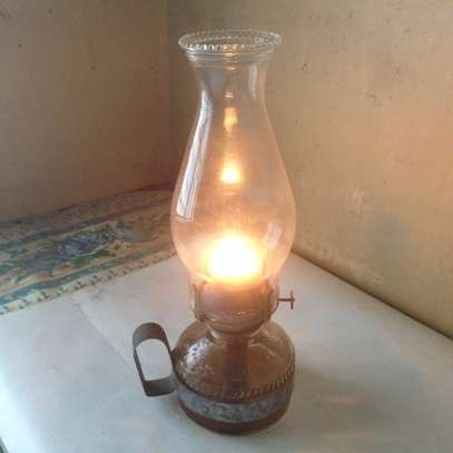 Antique kerosene Lamp.