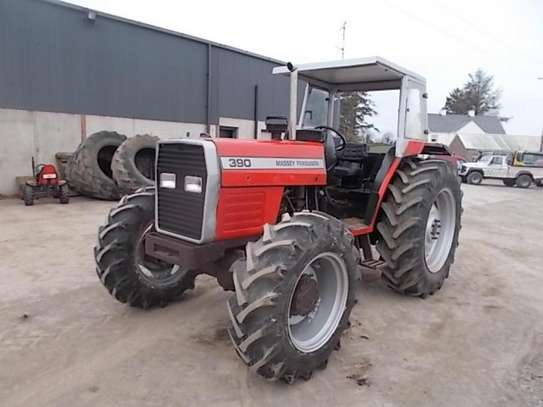 1995 Massey ferguson 375 4X4 81HP TSHS 37MILLION ON THE ROAD image 1