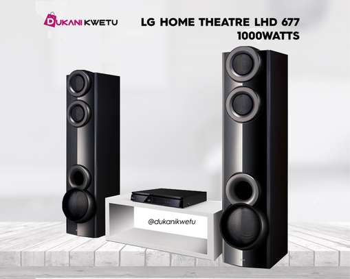 LG Music LHD6775 DVD Home Theater System - 1000Watts image 1