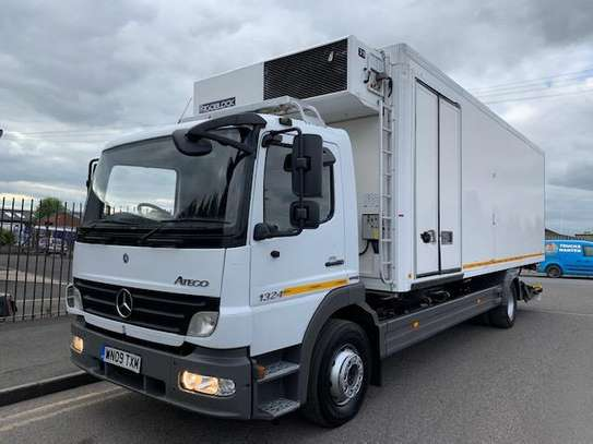 2009 Mercedes-Benz ATEGO 1324 4X2 FRIDGE