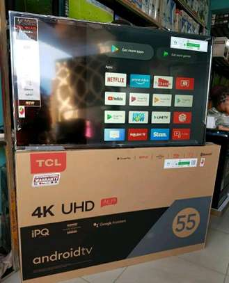 TCL ANDROID UHD 4K INCH 55 image 1