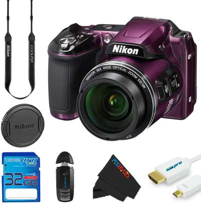 NIkon coolpix l840 full kit digital camera (purple)