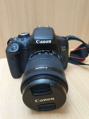 Canon EOS 750D, Digital SLR Camera with 18-55mm