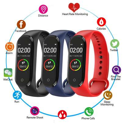 Rovtop M4 Smart band 4 Fitness Tracker Watch image 4