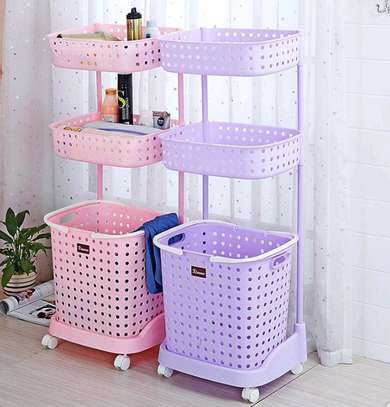 3 Tier Laundry Basket image 1