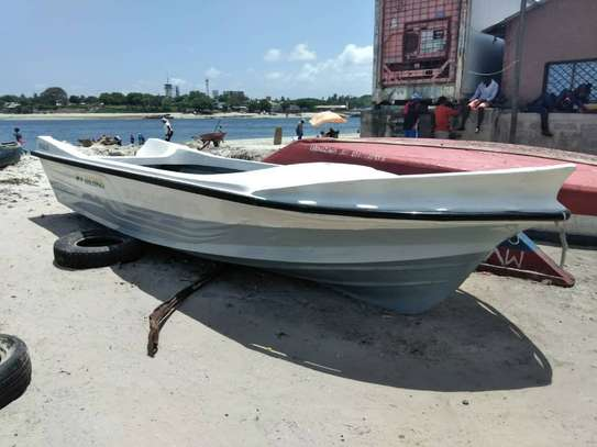 New  Fiberglass Boat  for Fishing