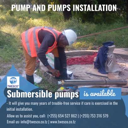 Pump and Pumps installation.