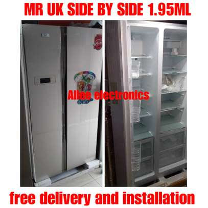 Mr Uk side by side refrigerator