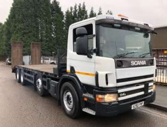 2000 Scania 114 340 8X2 FLATBED  TSHS92MILLION ON THE ROAD image 8