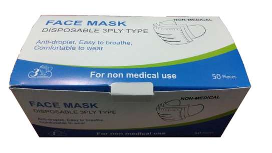 Disposable Mask (Barakoa) image 1